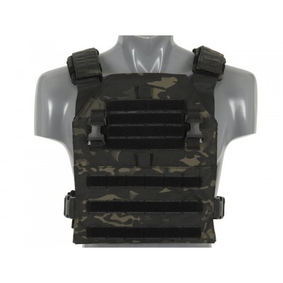 Multi-Mission plate carrier mellény (buckle-up), multiblack