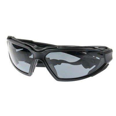 PYRAMEX Highlander védőszemüveg (fekete)