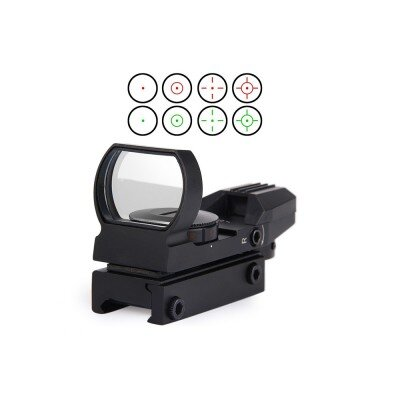 Reflex red dot (20 mm), fekete