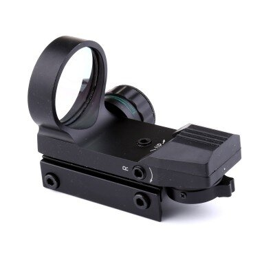 RING red dot, reflex sight, fekete