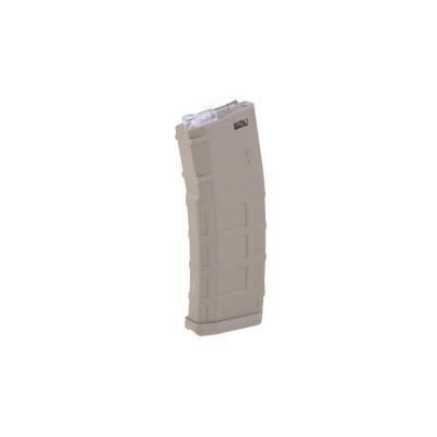 M4 / M16 TAN mid-cap tár, 150bb, Polymer (PMAG , Cyma)