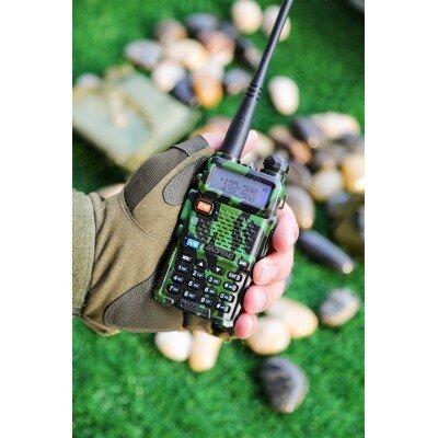 Baofeng UV-5R rádió szett álcázót (+headset)