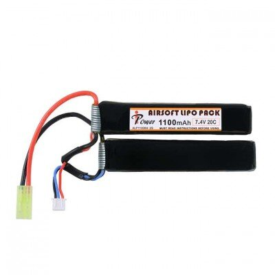 7,4v 1100 mAh Li-PO akkumulátor (2 cella, tamiya)