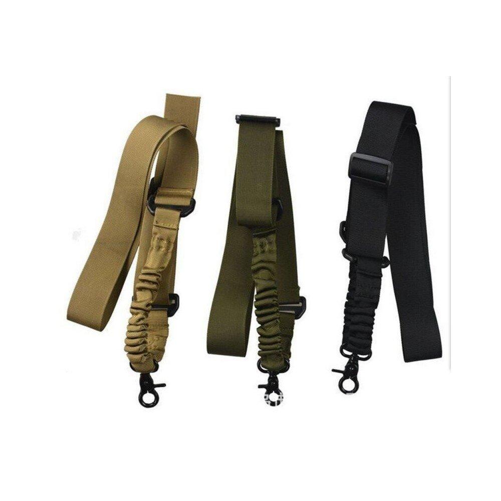 1 pontos bungee fegyverszíj, harapó karabiner