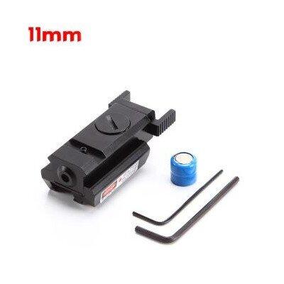Mini lézer (11 mm sínre)