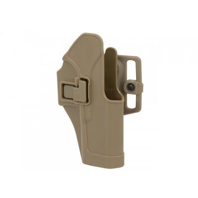 Glock holster 17,19,23,32 gyorstok (TAN)