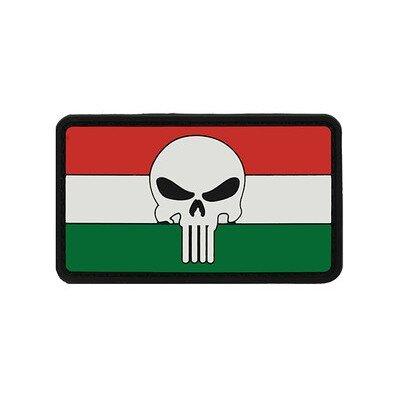 Zászló + Megtorló felvarró, nemzeti