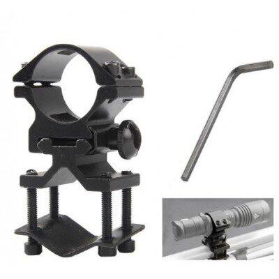 Fegyverlámpa szerelék (csőre is), 25,4mm