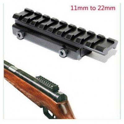 11mm / 20mm átalakító adapter, magasító  (9 slot )